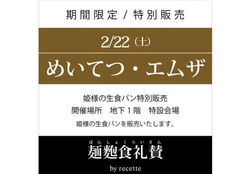 めいてつ・エムザ(石川県) 2020年2月22日