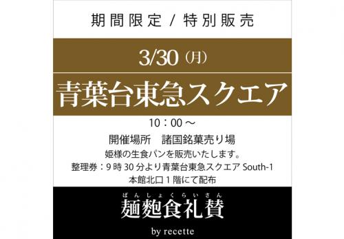 青葉台東急スクエア(東京都) 2020年3月30日